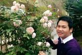 Nhà vườn 120 mét vuông giữa phố của Trọng Tấn