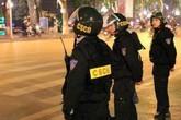 Thanh niên Hải Phòng đi xe máy đâm gãy chân cảnh sát cơ động