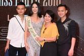 Nguyễn Phương Khánh lần đầu khoe mẹ và anh em trai