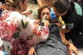 Người đẹp Venezuela ngất xỉu sau khi vào top 8 Miss Earth