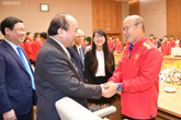 Thủ tướng gặp mặt đội tuyển Bóng đá Việt Nam, Quang Hải được nhận phần thưởng cao quý