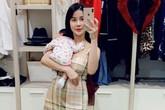 """Diệp Lâm Anh khoe khoảnh khắc chăm con giản dị như bao bà mẹ khác, tiết lộ thêm cả """"tật xấu"""" của con gái Boorin"""
