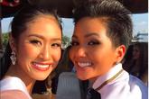 Giữa dàn người đẹp Miss Universe, H'Hen Niê vẫn không hề lép vế