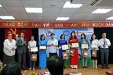 """36 tác phẩm xuất sắc được vinh danh tại Lễ trao giải """"Giải thưởng Báo chí về trẻ em"""""""