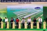 Thanh Hóa: Vinamilk đưa vào khai thác trang trại bò sữa 700 tỉ đồng