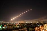 Đợt không kích đầu tiên của liên quân Mỹ - Anh - Pháp vào Syria kết thúc