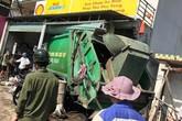 Nghệ An: Xe chở rác lao vào nhà dân, 3 người bị thương