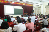 TP Vinh (Nghệ An): Tập huấn chính sách dân số cho cán bộ lãnh đạo phường xã