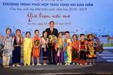 Honda Việt Nam phối hợp trao tặng Mũ bảo hiểm cho học sinh lớp Một toàn quốc năm học 2018 - 2019