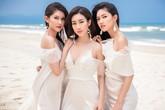 """Tình bạn hiếm có của Hoa hậu Đỗ Mỹ Linh với """"đối thủ"""" sau 2 năm đăng quang"""