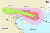 Ảnh hưởng bão Mangkhut, nhiều tỉnh miền Bắc sẽ có mưa to