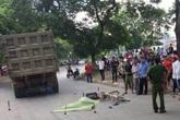 Bị xe tải cuốn vào gầm, 1 phụ nữ tử vong