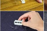 Buồn phiền khi nhìn đống quần áo mùa đông bị xù lông, đây là cách đánh bay lông xù mang lại vẻ tươi mới cho quần áo