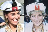 Kate Middleton - vợ Hoàng tử William khiến fan Công nương Diana giật nảy mình với chi tiết này