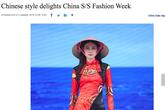 """Nhà thiết kế Việt bất bình khi đồng nghiệp Trung Quốc """"mạo nhận"""" áo dài truyền thống"""