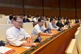 Quốc hội biểu quyết thông qua 3 Luật quan trọng