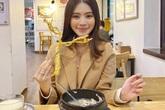 """Hoa hậu """"rich kid"""" ăn món dát vàng đắt đỏ: Huyền My, Hồ Ngọc Hà chẳng thua kém"""