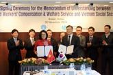 BHXH Việt Nam ký kết Bản ghi nhớ hợp tác với KCOMWEL giai đoạn 2020-2025