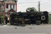 Nam Định: 2 tài xế xe tải thương vong sau cú tông trực diện