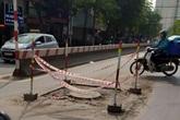 Người dân Thủ đô bức xúc vì đường phố đang đẹp bỗng dưng bị đào xới nhếch nhác dịp cận Tết