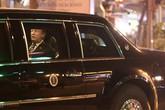Lãnh đạo Mỹ, Triều rời khách sạn sau bữa tối tại Hà Nội