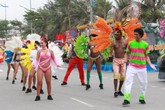 Lần đầu tiên lễ hội Carnival sôi động, đầy sắc màu diễn ra tại thành phố biển Sầm Sơn