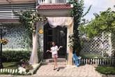 Khu vườn rợp bóng hoa và cây ăn quả trong biệt thự 40 tỷ của mỹ nhân tố Minh Tuyết cướp bài hit của mình
