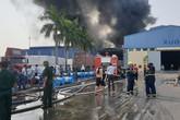 Hải Phòng: Cháy lớn tại công ty Nhựa Phú Lâm