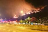 Hơn 8 tiếng khống chế cháy lớn ở Hà Tĩnh bất thành