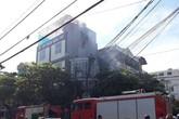 Thái Bình: Cháy lớn tại một cửa hàng kinh doanh thực phẩm sạch