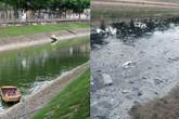 Hồ Tây xả nước, 2 tháng nữa mới biết kết quả thí điểm làm sạch sông Tô Lịch?
