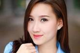 """""""Bông hồng"""" Lào gốc Việt xinh đẹp trong lễ tốt nghiệp tại Học viện Ngoại giao"""