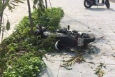 Điều khiển xe máy lao lên vỉa hè, nam sinh lớp 10 tử vong