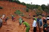 Đắk Nông: Mưa lớn, hai vợ chồng và con gái bỏ mạng dưới núi đất lở