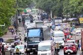 Hà Nội: Chùm ảnh đường Cầu Bươu tắc kinh hoàng từ sáng sớm đến trưa