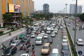 """Dòng người """"tay xách, nách mang"""" trở lại Hà Nội sau kỳ nghỉ Quốc khánh 2/9"""
