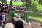 Hà Nội: Phát hiện thi thể người phụ nữ tử vong dưới hồ
