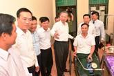 Ban lãnh đạo Vietcombank tham gia đoàn công tác cùng Bộ trưởng Tô Lâm thăm và tặng quà các đ/c thương binh tại Thuận Thành – Bắc Ninh