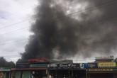 TP.HCM: Cháy lớn, trường mầm non sơ tán ngay ngày khai giảng
