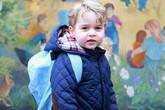 Ngày đầu đến trường của con cháu Nữ hoàng Anh