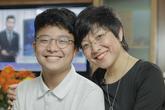 Xúc động lá thư của MC Thảo Vân gửi con trai NSND Công Lý nhân ngày khai trường