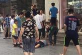 Nổ lớn ở hàng trà đá chân tòa nhà chung cư HH Linh Đàm, ít nhất 4 người bị thương