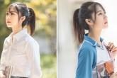 """Cô gái bỗng """"nổi như cồn"""" với bức ảnh mặc đồng phục ĐH Bách khoa"""