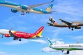 Giá vé máy bay tết tăng vọt, nhiều chặng khan hiếm vé