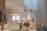 Căn biệt thự mini 3 tầng quá đỗi đáng yêu nhờ cách sắp xếp nội thất