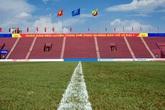 Cận cảnh SVĐ Việt Trì (Phú Thọ) ít giờ trước trận giao hữu giữa U23 Việt Nam gặp U23 Myanmar