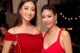 Đứng cạnh Hoa hậu trẻ đẹp kém 24 tuổi, Hà Kiều Anh vẫn không thua kém bởi vẻ đẹp sexy mặn mà