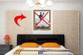 Treo ảnh cưới góc này trong phòng ngủ - sai lầm tai hại nhiều người mắc