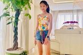 Ngỡ ngàng với hình thể con gái Trương Ngọc Ánh ở tuổi 12