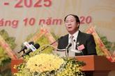 Ông Lê Văn Thành tiếp tục làm Bí thư Hải Phòng
